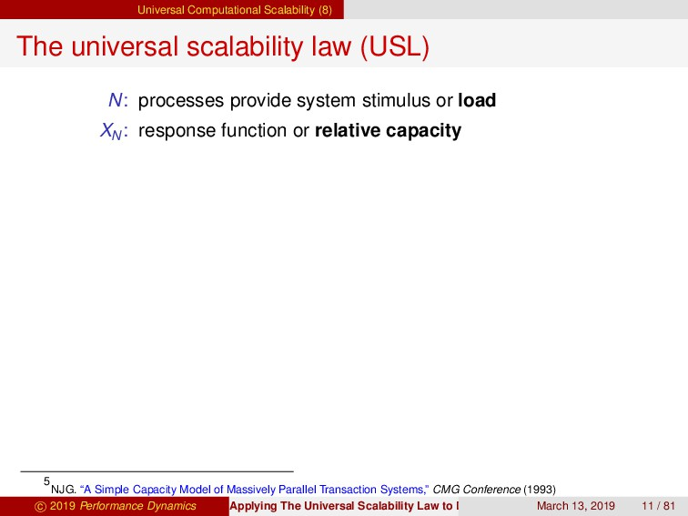 Universal Computational Scalability (8) The uni...