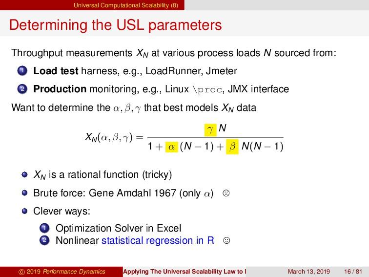 Universal Computational Scalability (8) Determi...