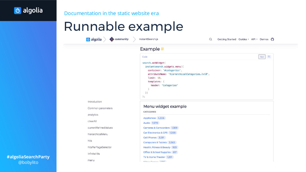 Documentation in the static website era Runnabl...