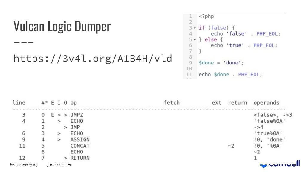 @coudenysj - jachim.be Vulcan Logic Dumper http...