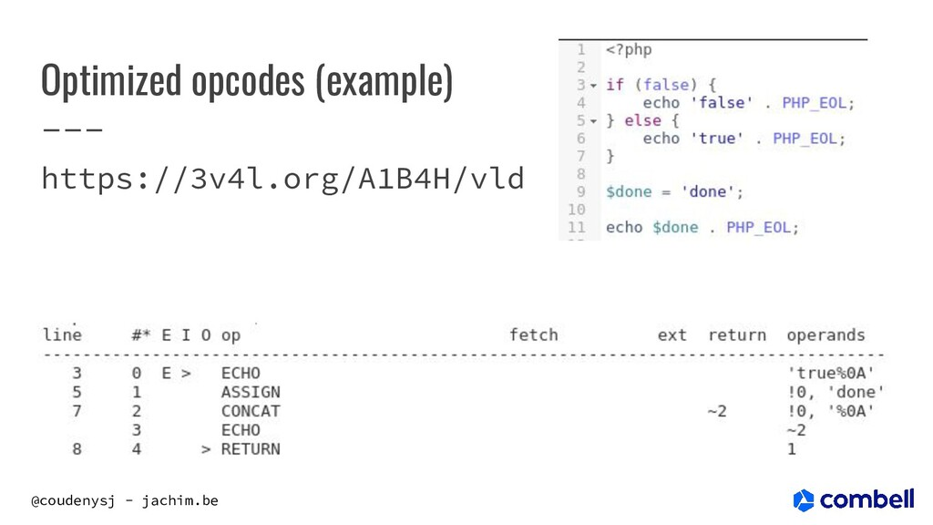 @coudenysj - jachim.be Optimized opcodes (examp...