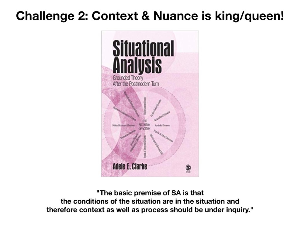"Challenge 2: Context & Nuance is king/queen! ""T..."