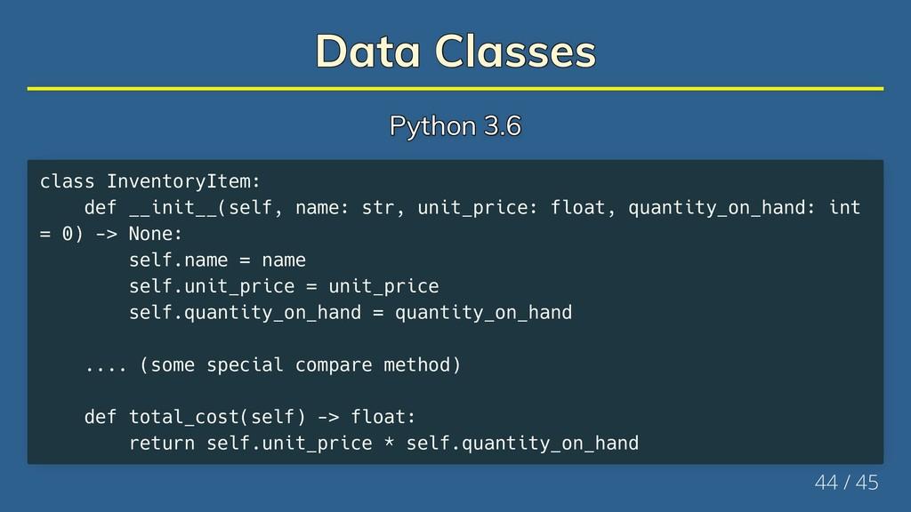 Data Classes Data Classes Data Classes Data Cla...