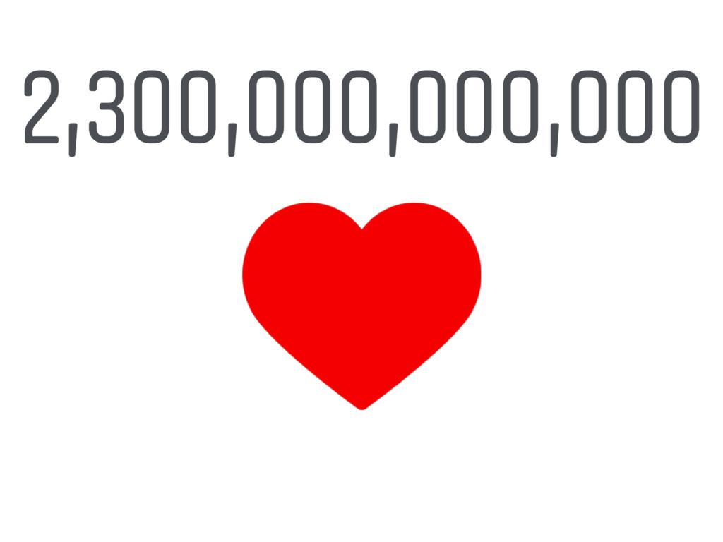 2,300,000,000,000