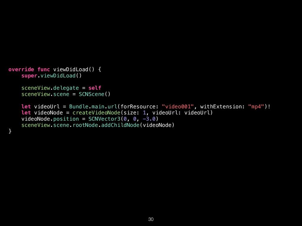 override func viewDidLoad() { super.viewDidLoad...