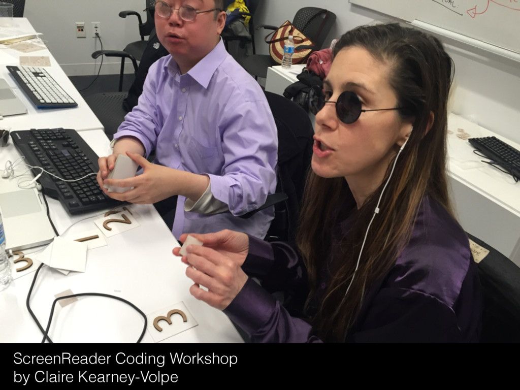 ScreenReader Coding Workshop by Claire Kearney-...