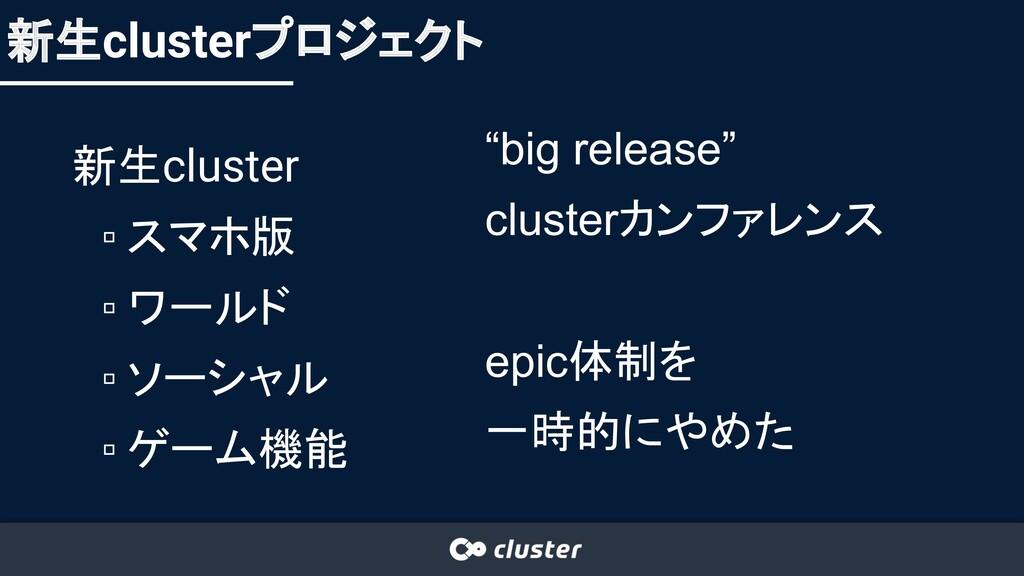 新生cluster ▫ スマホ版 ▫ ワールド ▫ ソーシャル ▫ ゲーム機能 新生clust...