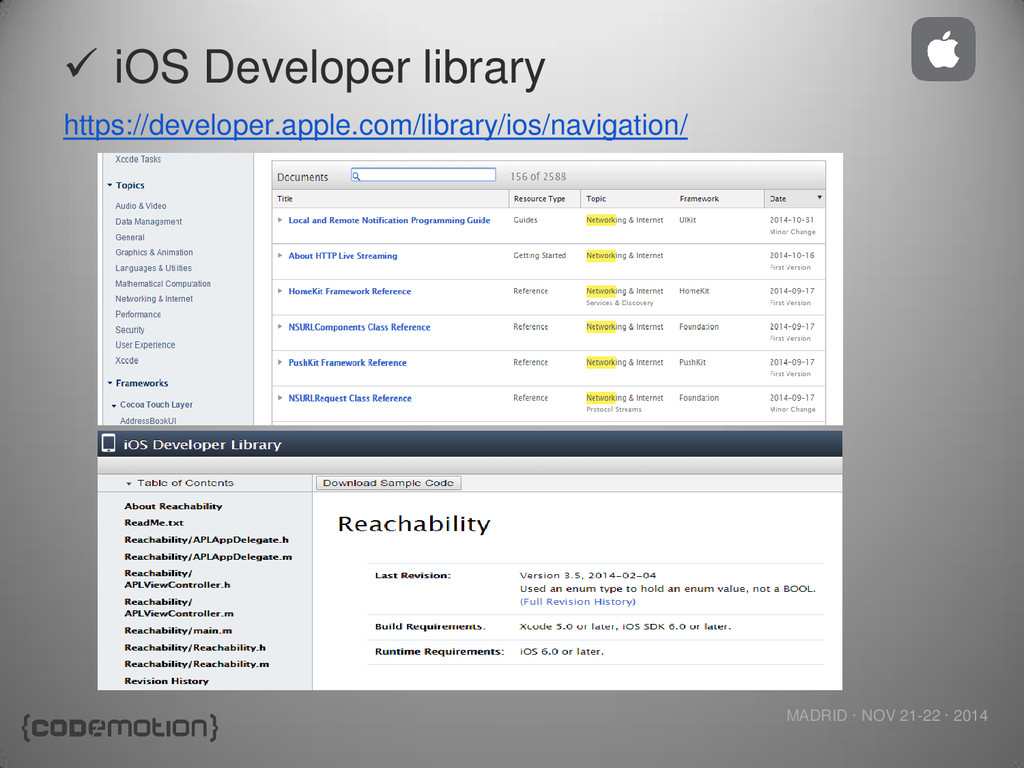 MADRID · NOV 21-22 · 2014 https://developer.app...