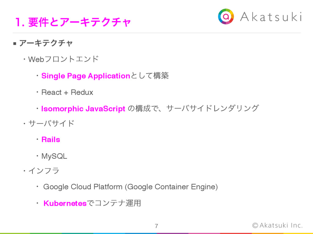 ■ ΞʔΩςΫνϟ ɹɾWebϑϩϯτΤϯυ ɹɾSingle Page Applicat...
