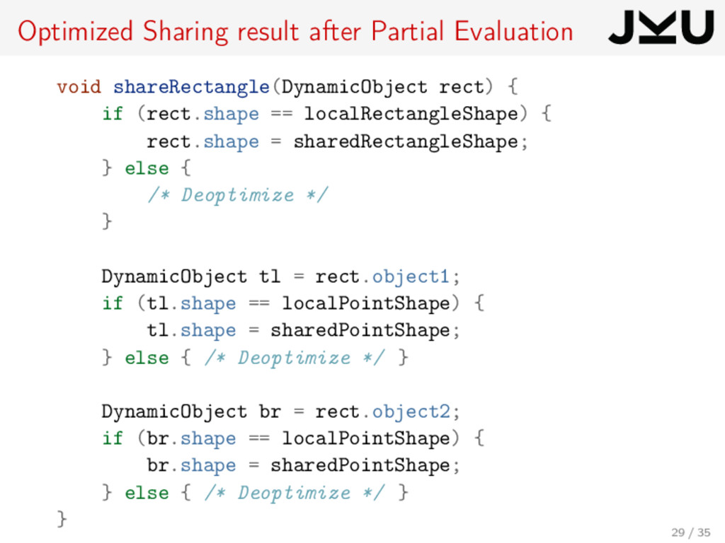 Optimized Sharing result after Partial Evaluati...