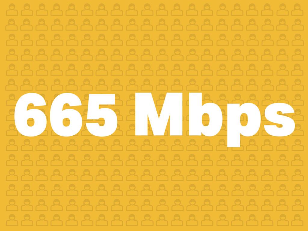665 Mbps