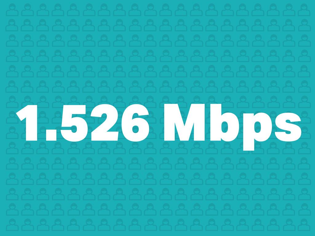 1.526 Mbps