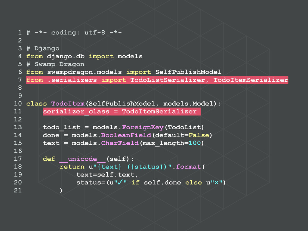 1 # -*- coding: utf-8 -*- 2 3 # Django 4 from d...