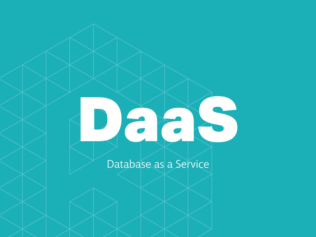 DaaS Database as a Service