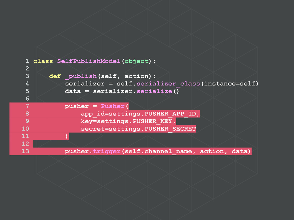 1 class SelfPublishModel(object): 2 3 def _publ...