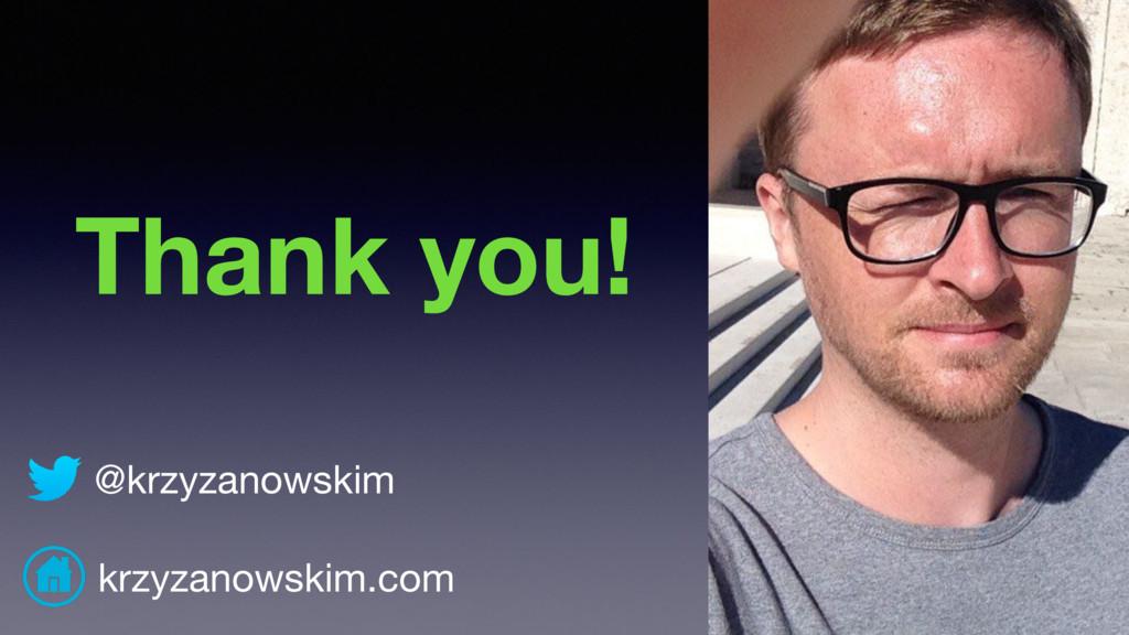 @krzyzanowskim krzyzanowskim.com Thank you!