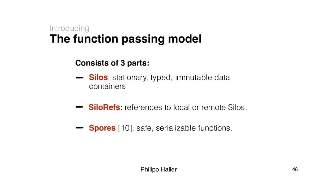 Philipp Haller The function passing model Intro...