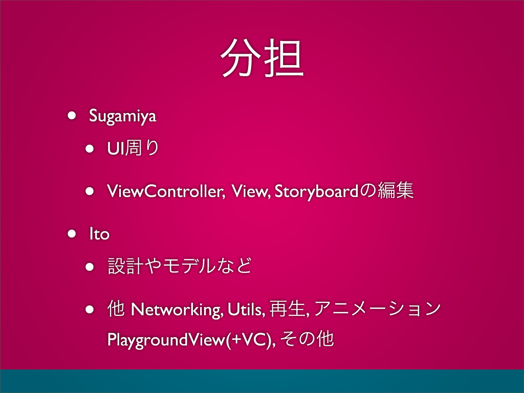୲ • Sugamiya • UIपΓ • ViewController, View, St...