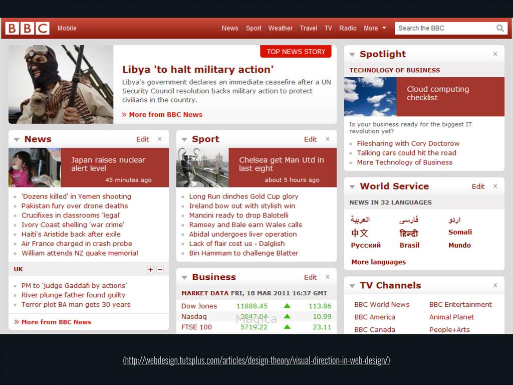 Mágica (http://webdesign.tutsplus.com/articles/...