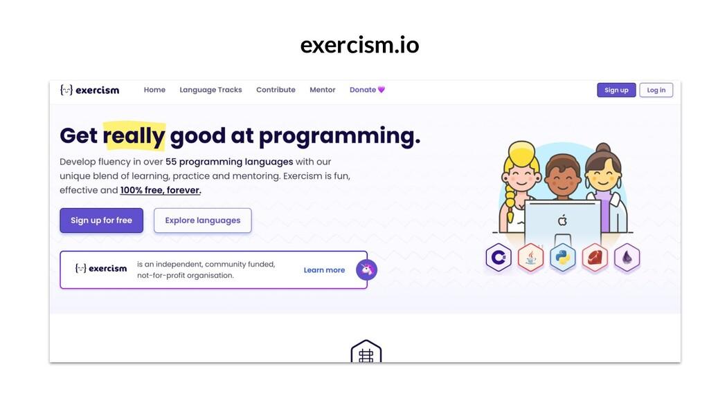 exercism.io