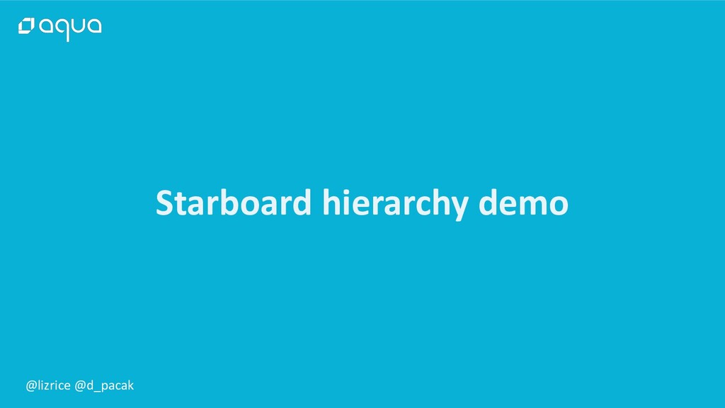 @lizrice @d_pacak Starboard hierarchy demo