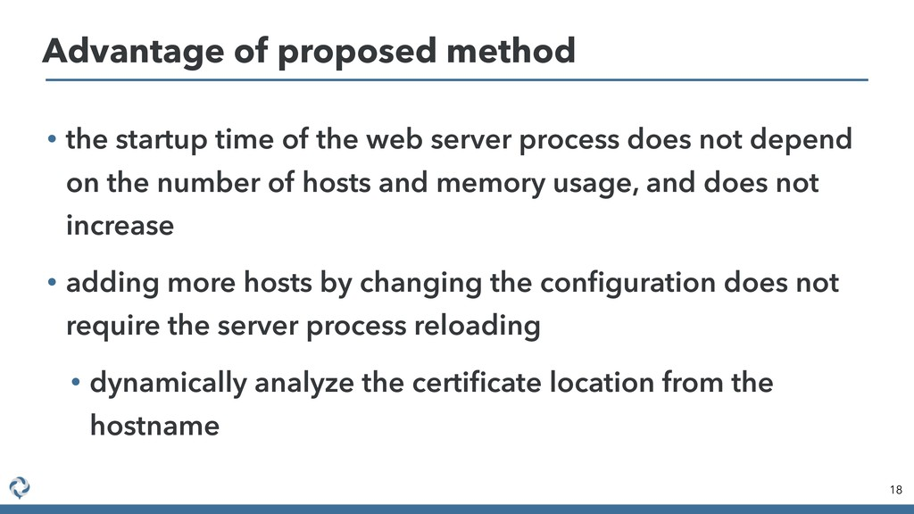 • the startup time of the web server process do...