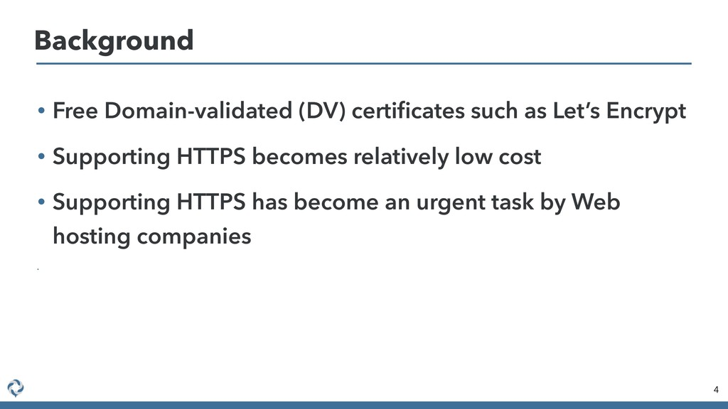 • Free Domain-validated (DV) certificates such a...