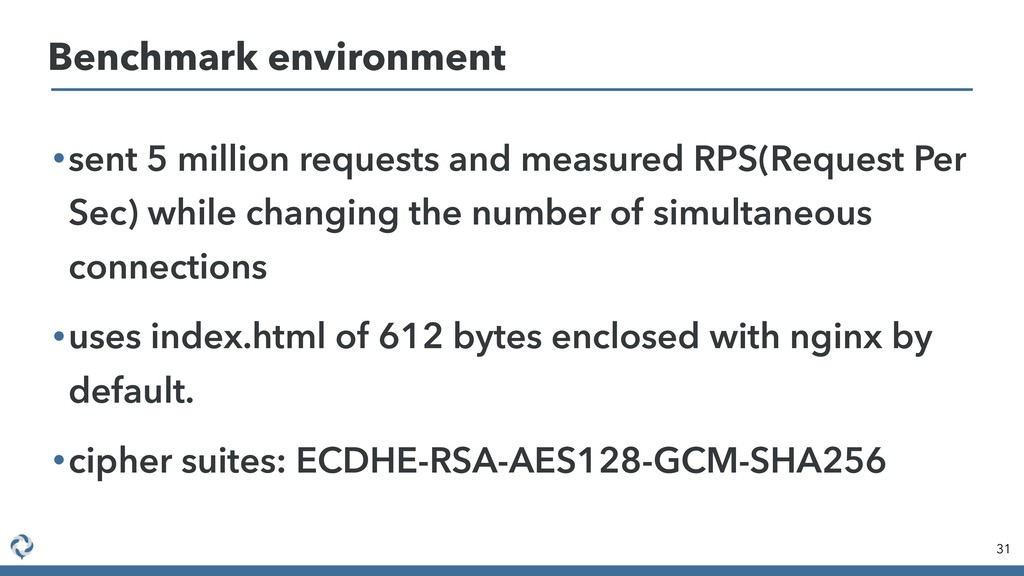 •sent 5 million requests and measured RPS(Reque...