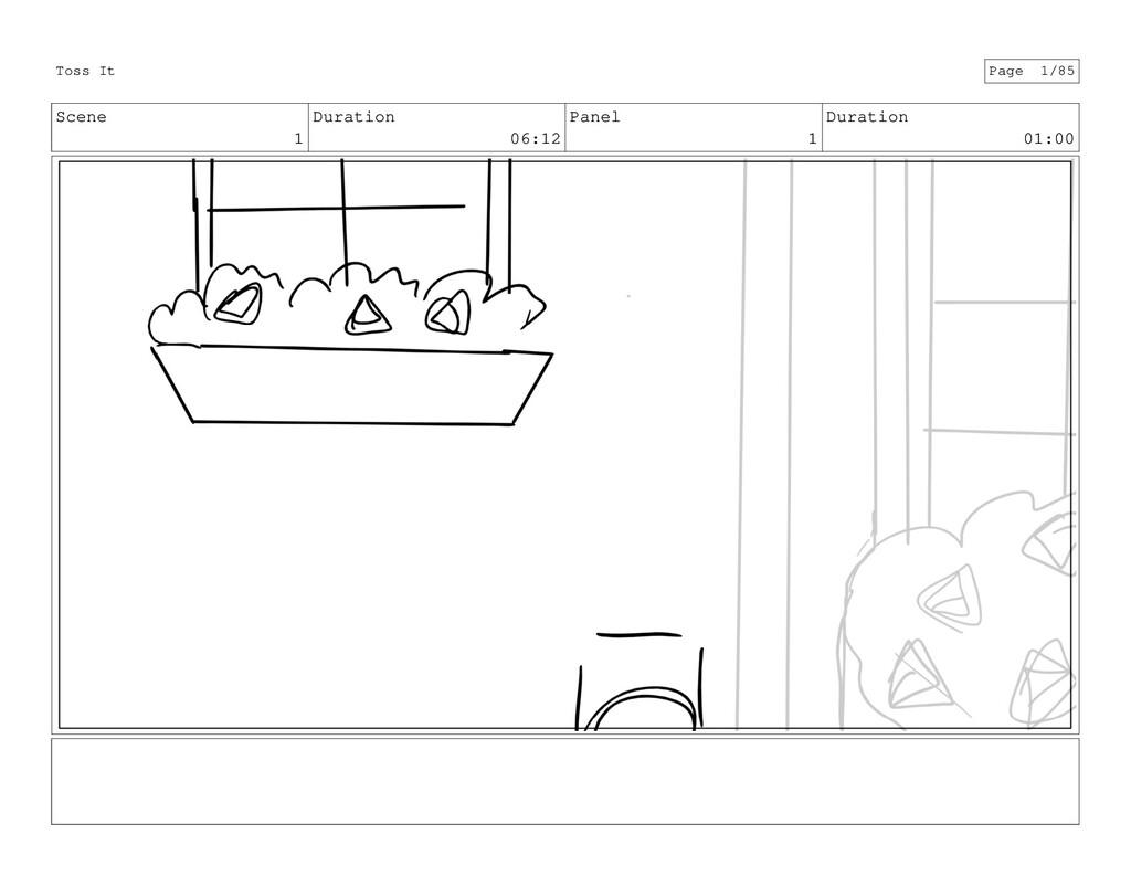 Scene 1 Duration 06:12 Panel 1 Duration 01:00 T...