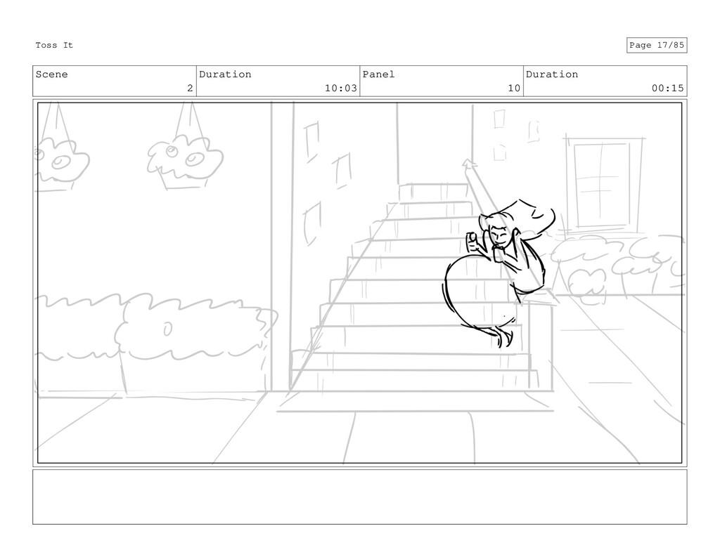 Scene 2 Duration 10:03 Panel 10 Duration 00:15 ...