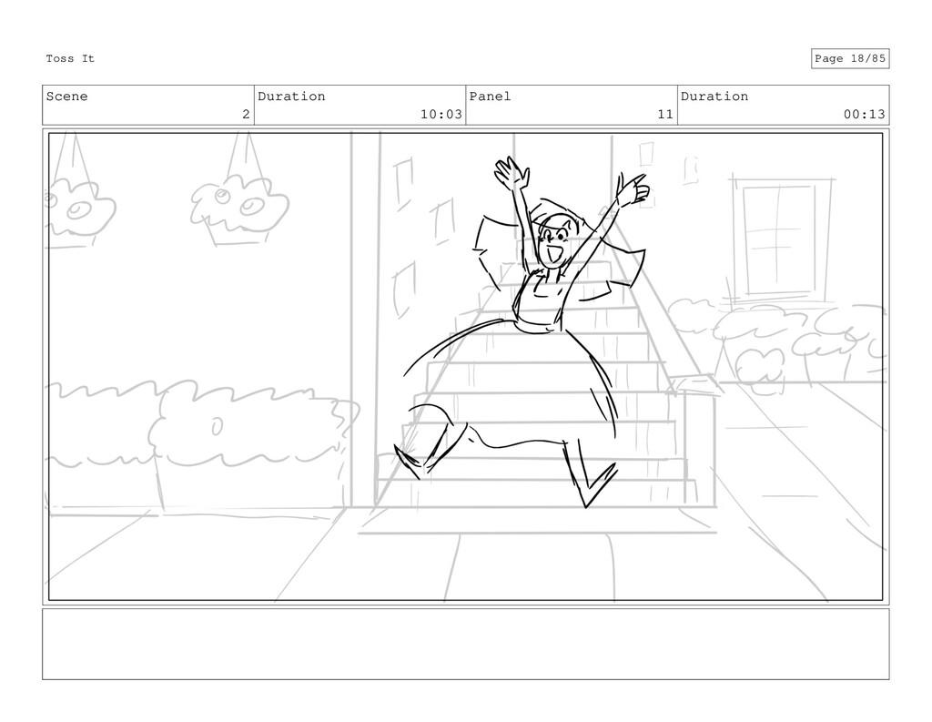 Scene 2 Duration 10:03 Panel 11 Duration 00:13 ...