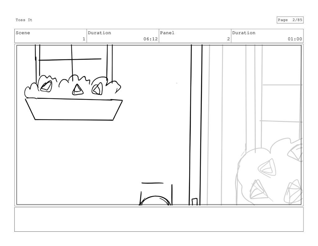 Scene 1 Duration 06:12 Panel 2 Duration 01:00 T...