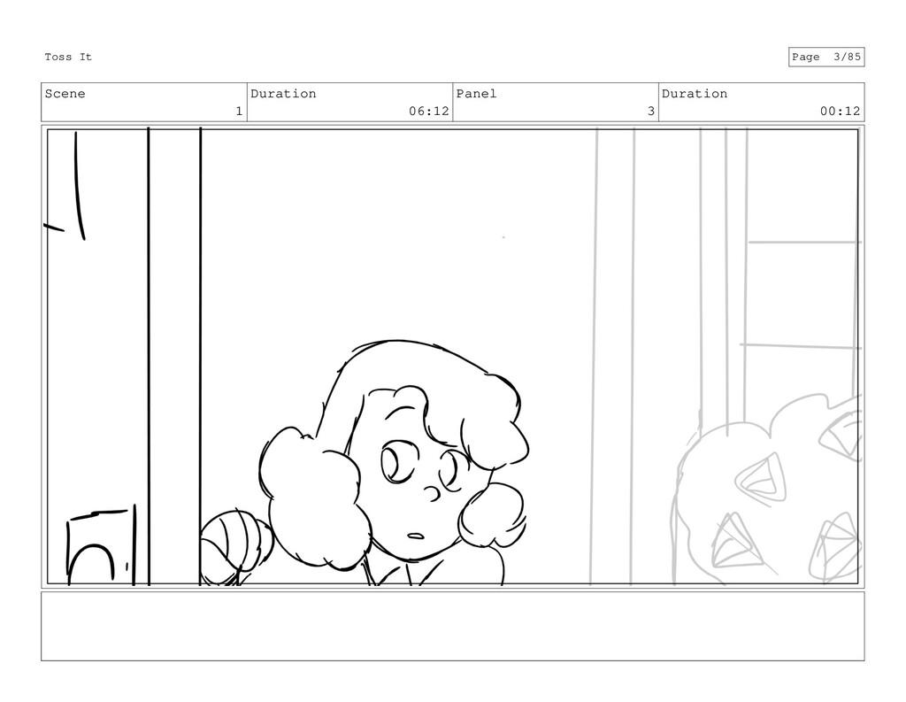 Scene 1 Duration 06:12 Panel 3 Duration 00:12 T...
