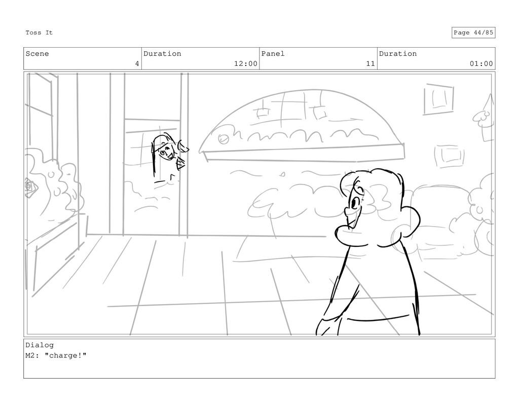 Scene 4 Duration 12:00 Panel 11 Duration 01:00 ...