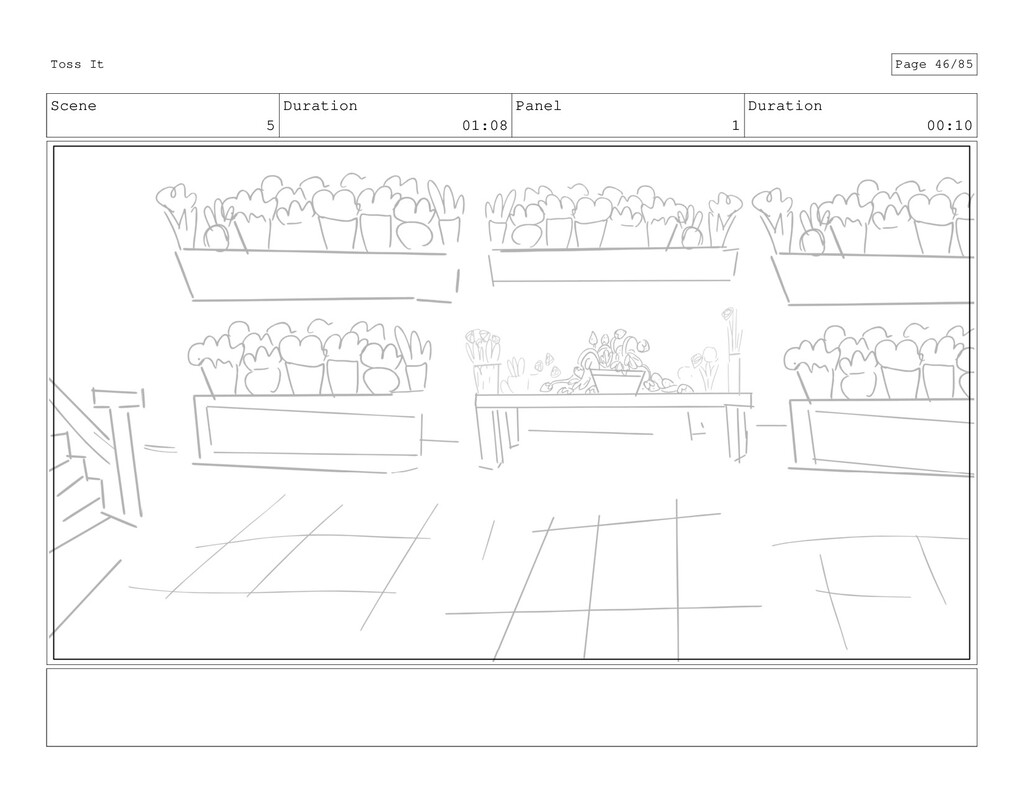 Scene 5 Duration 01:08 Panel 1 Duration 00:10 T...
