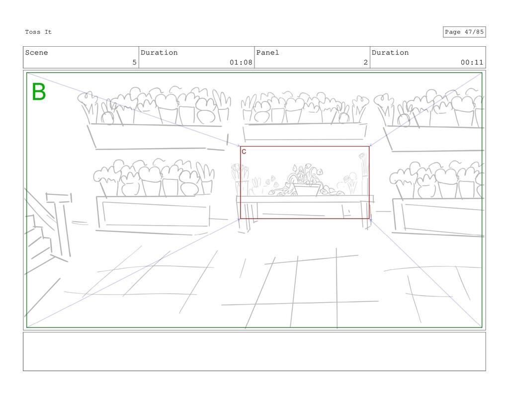 Scene 5 Duration 01:08 Panel 2 Duration 00:11 T...