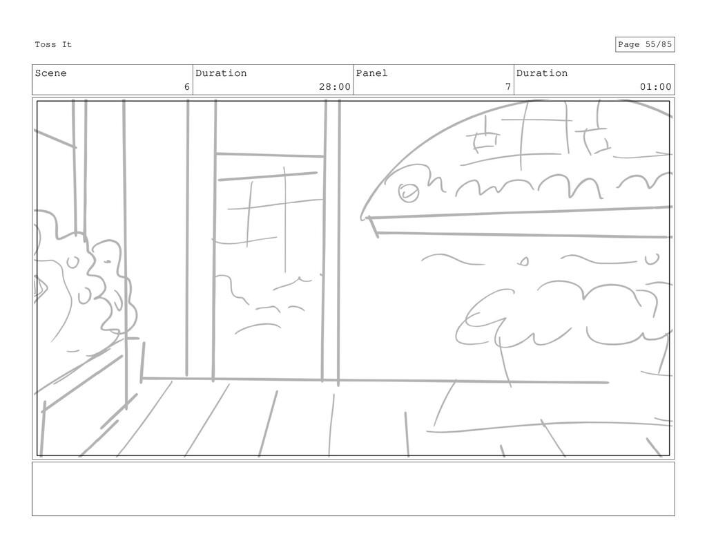 Scene 6 Duration 28:00 Panel 7 Duration 01:00 T...