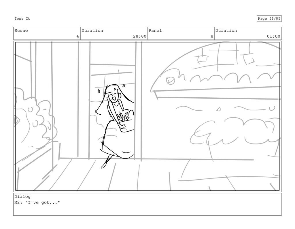 Scene 6 Duration 28:00 Panel 8 Duration 01:00 D...