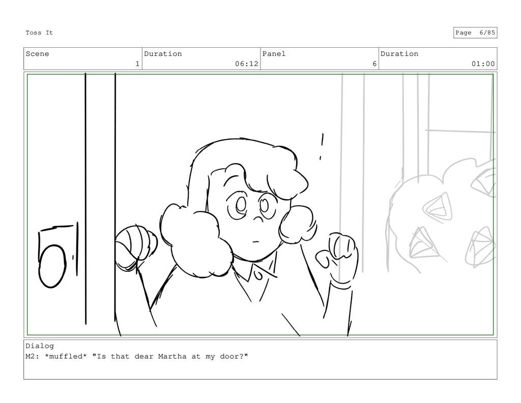 Scene 1 Duration 06:12 Panel 6 Duration 01:00 D...