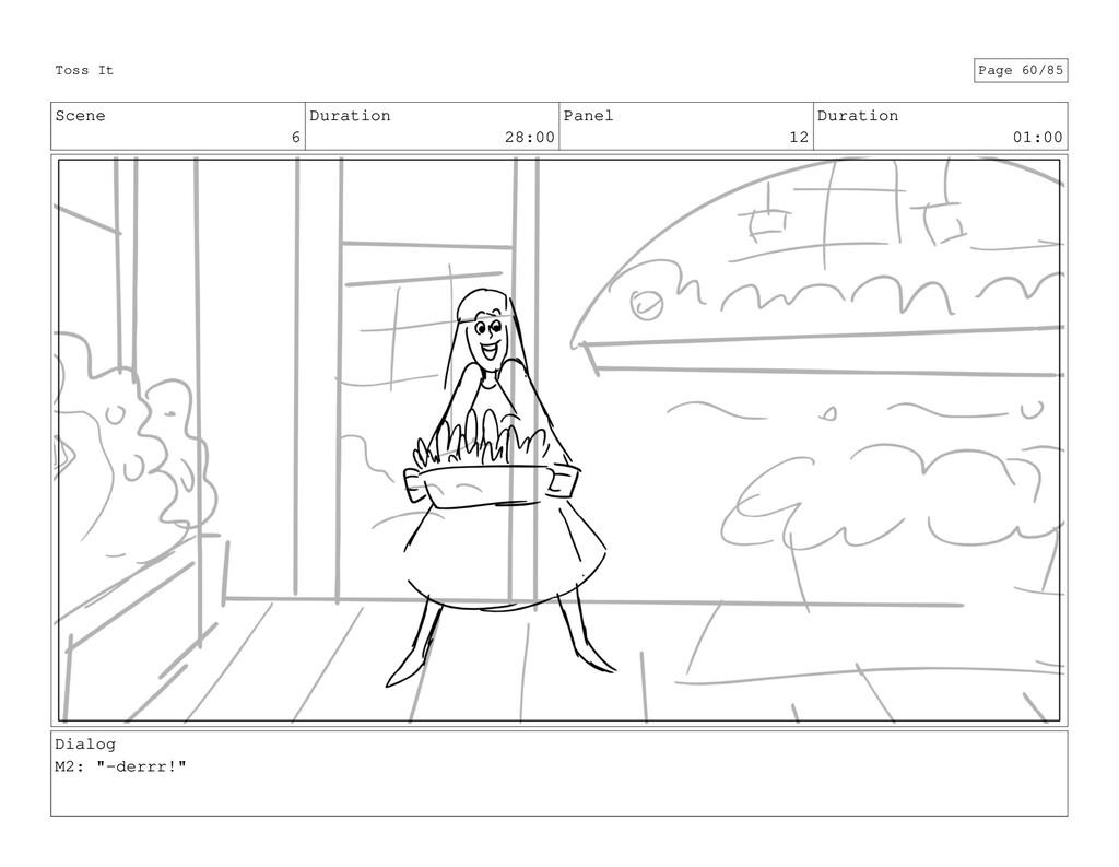 Scene 6 Duration 28:00 Panel 12 Duration 01:00 ...