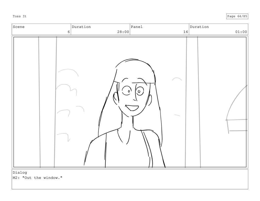 Scene 6 Duration 28:00 Panel 16 Duration 01:00 ...