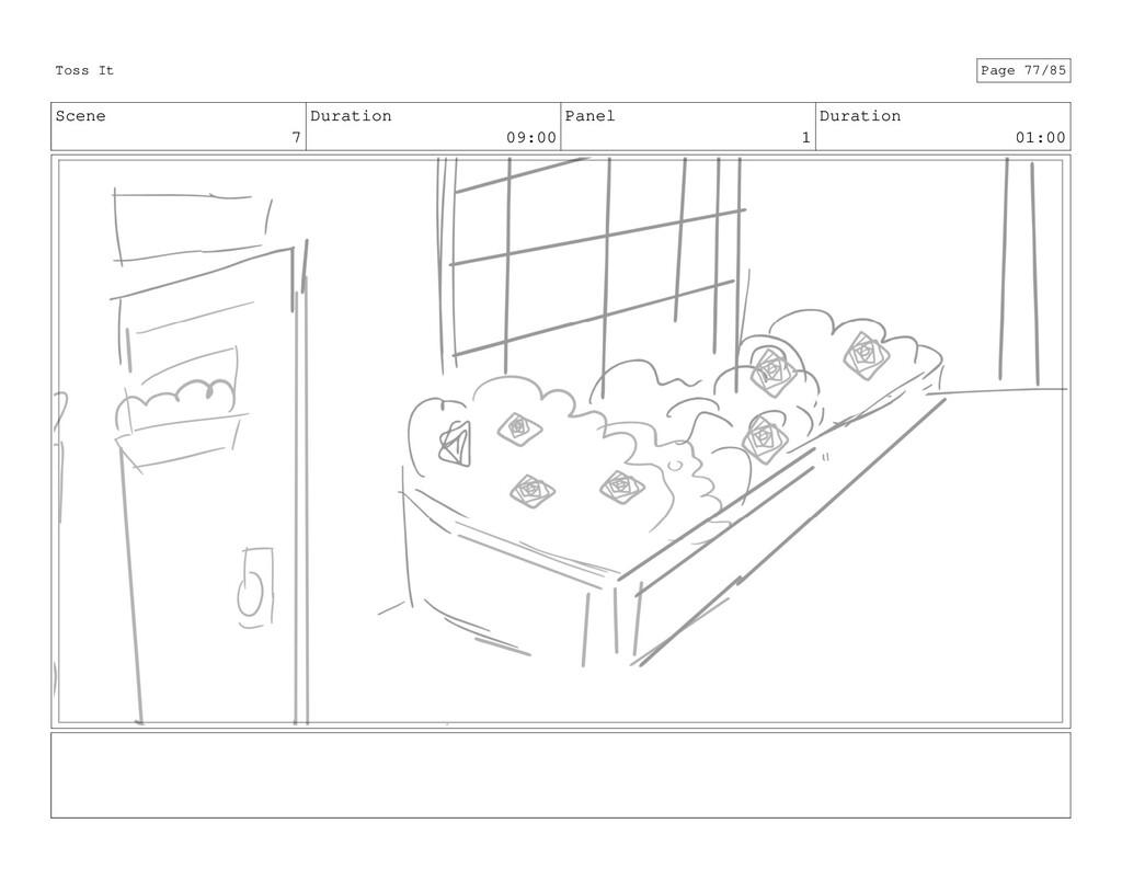Scene 7 Duration 09:00 Panel 1 Duration 01:00 T...