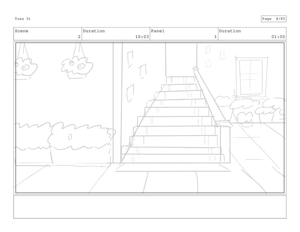 Scene 2 Duration 10:03 Panel 1 Duration 01:00 T...