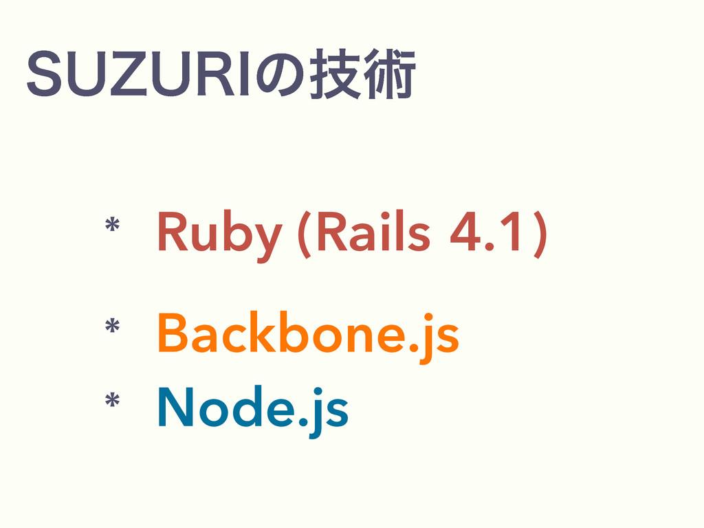 46;63*ͷٕज़  Ruby (Rails4.1)  Backbone.js  ...