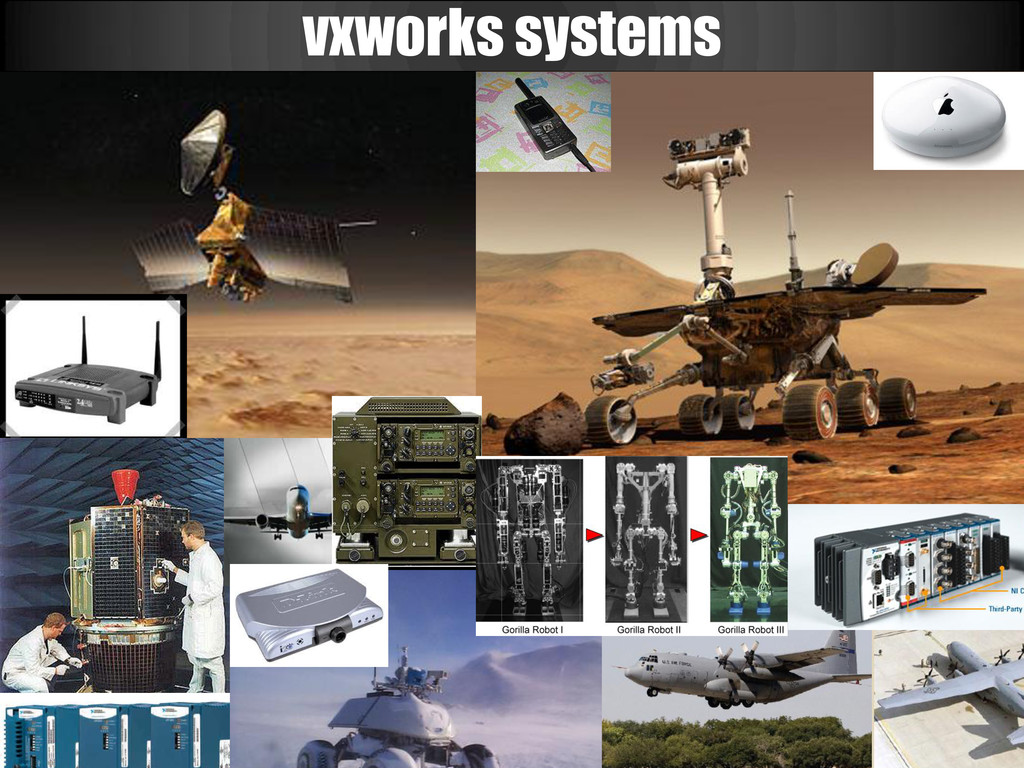 vxworks systems