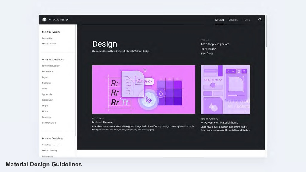 Material Design Guidelines