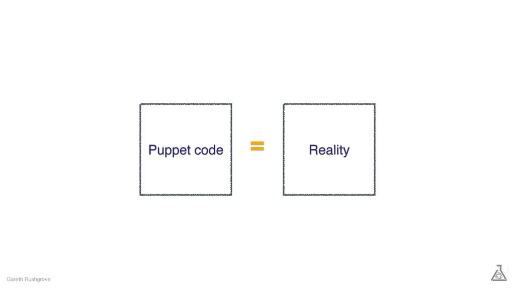 Gareth Rushgrove Puppet code Reality =