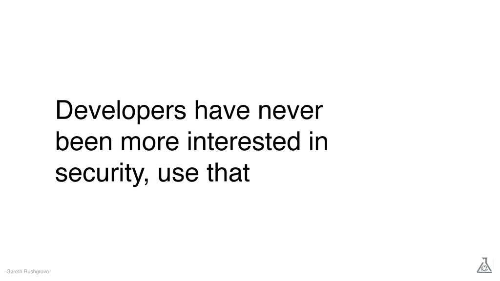 Developers have never been more interested in s...
