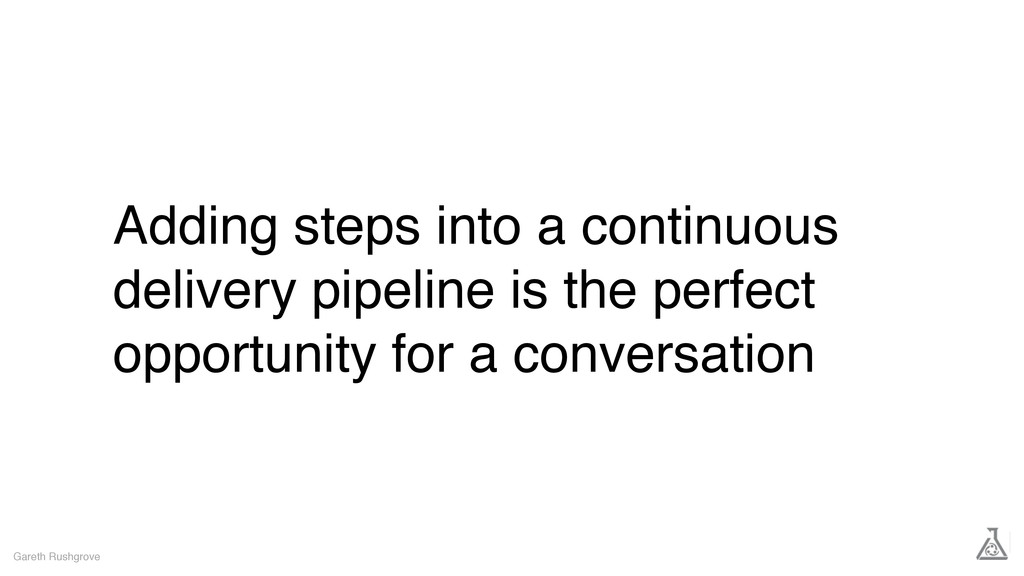 Adding steps into a continuous delivery pipelin...