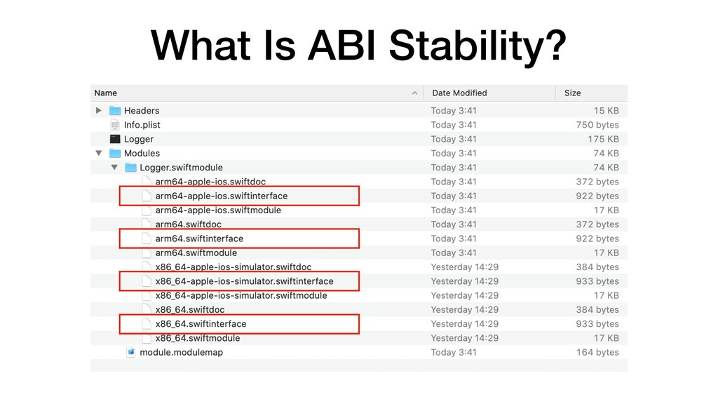 What Is ABI Stability?